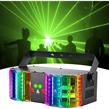 DMX Laser Effekt Stage Show Light DJ Disco Projektor Light LED Bühnenlicht Remot