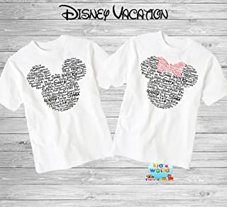 f12ed18997cba Disney Family Shirts Disney Shirts,Disney Family Shirts, Mickey,  Minnie,Custom T