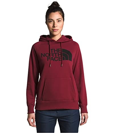 The North Face Half Dome Pullover Hoodie (Pomegranate) Women