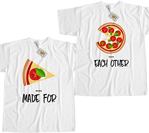 Couple Shirt Made for Each Other Pizza T Shirt Best Friends