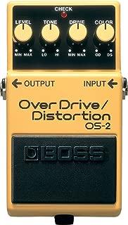 BOSS Overdrive/Distortion Guitar Pedal (OS-2)