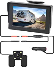 $31 » B-Qtech 4.3 inch Vehicle Backup Camera, TFT Monitor Rear View Reverse Camera with Digital Color LCD Display Screen Easy In...
