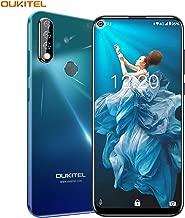OUKITEL C17 PRO Cell Phones 64GB + 4GB RAM 6.35 Inch FHD+ Screen Android 9.0 Unlocked Smartphone Global Version 4G LTE Dual-SIM 3900mAh Battery 13MP + 5MP + 2MP Triple Camera Face Fingerprint Unlock