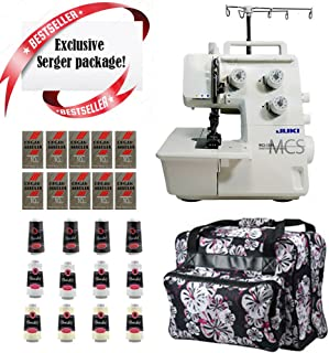 Juki MCS-1500 Cover and Chain Stitch Machine w/ Limited time Serger Package!