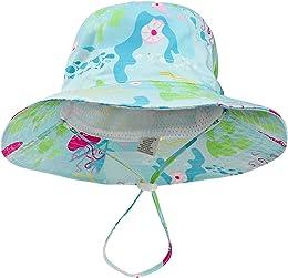 DRESHOW Chapeau de soleil pour bébé Tout-petit Pro