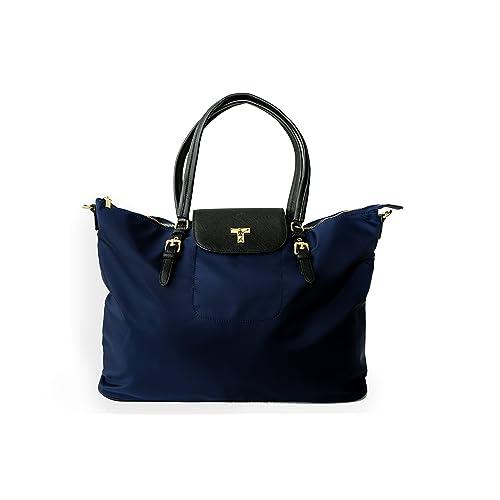 5d3d5f45ee66 Women's Large Travel Tote, Water-Resistant Bag (Black)