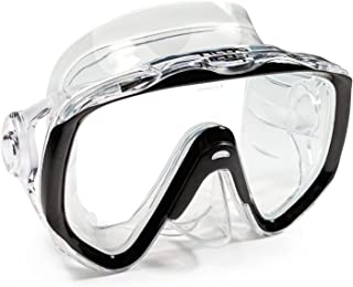Tilos Titanica, Single Lens Oversize Mask for Scuba and Snorkeling, Adult and Junior