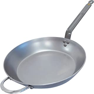 MINERAL B Round Carbon Steel Fry Pan 14-Inch