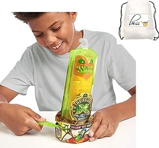 Kids Boys Treasure X Aliens (Bonus PIXI Cube) Dissection Kit with Slime Action Figure and Treasure, Multicolor