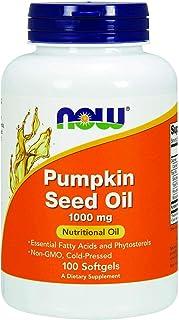 Now Pumpkin Seed Oil 1000 Mg Softgels - 100 Softgels