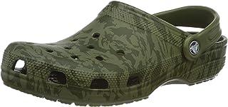 Crocs Classic Printed Camo Clog, Zuecos Unisex Adulto