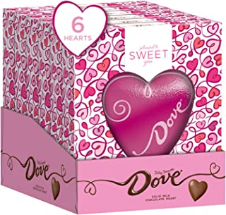 DOVE Valentine's Day Solid Milk Chocolate Heart 4-Ounce