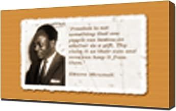 Kwame Nkrumah Quotes 1 - Canvas Art Print