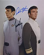autographed picture of leonard nimoy