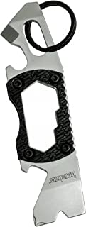 Kershaw PT-2 Compact Keychain Pry Tool (8810X); Features Bottle Opener, Two Screwdriver Tips, Pry Bar, Wire Scraper, Three Hex Drives; Made of 8Cr13MoV Stainless Steel; 0.8 OZ, 3.75 In. Overall Length
