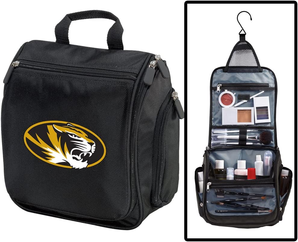 University of Missouri Toiletry Bags Hanging Shaving Mizzou Or Manufacturer direct delivery Bargain sale K