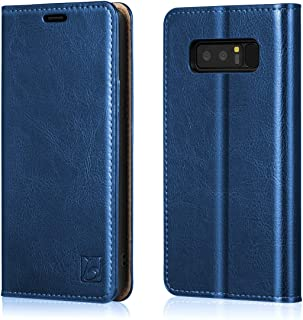 Best leather wallet note 8 Reviews