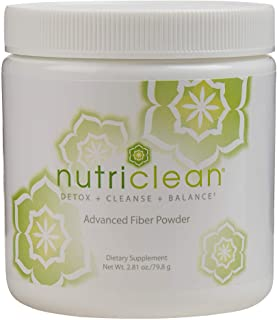 NutriClean 7 Day Cleansing System with Stevia, Detox, Cleanse, Advanced Fiber Powder, Maintain Digestive Health, Helps Cle...