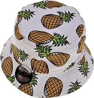 Unisex Cute Print Bucket Hat Summer Fisherman Cap