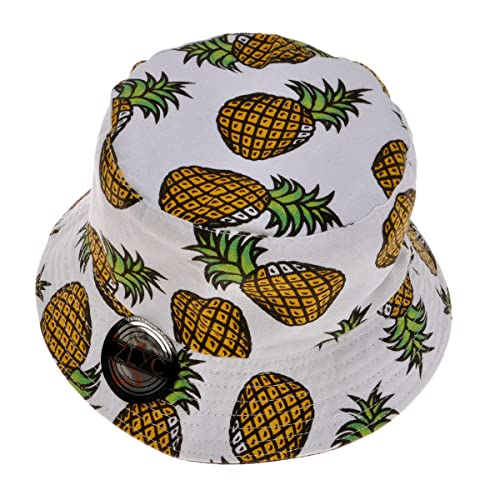 ZLYC Unisex Cute Print Bucket Hat Summer Fisherman Cap dfe3a98eaf8