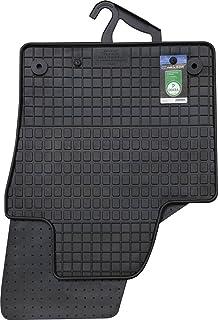 PETEX 67310 Gummimatten für passend für Sharan ab 40422 43958 Sitzer vorne und Fahrgastraum 1 Sitzreihe Fußmatten schwarz 4 teilig