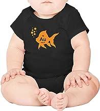 Artisfive Element Gold Goldfish Unisex Baby Onesies Infant Bodysuit