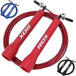 RDX Saltar La Cuerda MMA Boxeo Gimnasia Gimnasio Ajustable Gimnasio Acero Saltar Velocidad Perder Peso Saltar Metal Cable ...