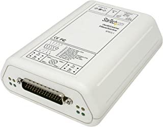 StarTech.com 4 Port RS232 Serial Over IP Ethernet Device Server (NETRS232_4)