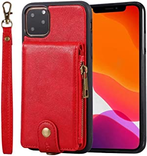 Case for iphone 11 Pro max, Wear-Resistant Cold-Resistant Breathable Anti-Fall Wallet Mobile Phone Protective Cover,for iP...