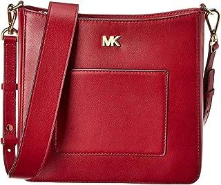 Michael Kors Gloria Leather Messenger