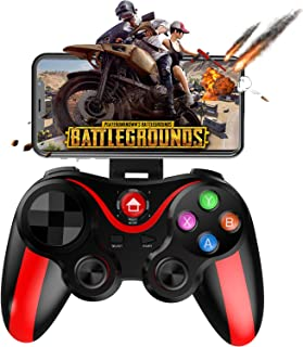 Mobile Controller for PUBG/COD, Megadream Mobile Gamepad Wireless Game Controller Joystick for Android Phone & Tablet, Key Mapping, Shooting Fighting Racing Game