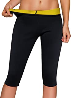Women's Slimming Pants High Waist Body Shaper Thermo Sweat Workout Capri