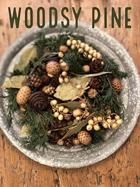 Homestead Studios Woodsy Pine Potpourri Fresh And Earthy Scent Perfect Potpourri For Holidays Fall Winter Summer All Year Round