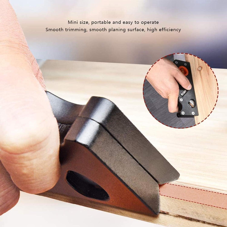 Black+Ruler Block Planer,DIY Hand Chamfering Trimming Planer,Metal Manual Wood Planer,Edge Sloping Smoothing Planer,Woodcraft Corners Edge Carpenter Smoothing Tool Suitable for Woodworking Worker