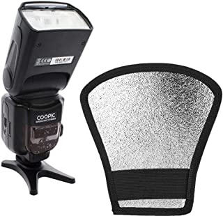 COOPIC CF580EX N Flash with Silver/White Flash diffuser for Nikon Cameras
