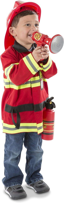 Melissa 2021 model Doug Fire Chief Role Max 58% OFF Play Dress-Up 6 Costume pcs Set