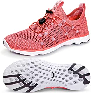 Women's Quick Drying Water Shoes Lightweight Aqua Shoes for Sports Outdoor Beach Pool Exercise