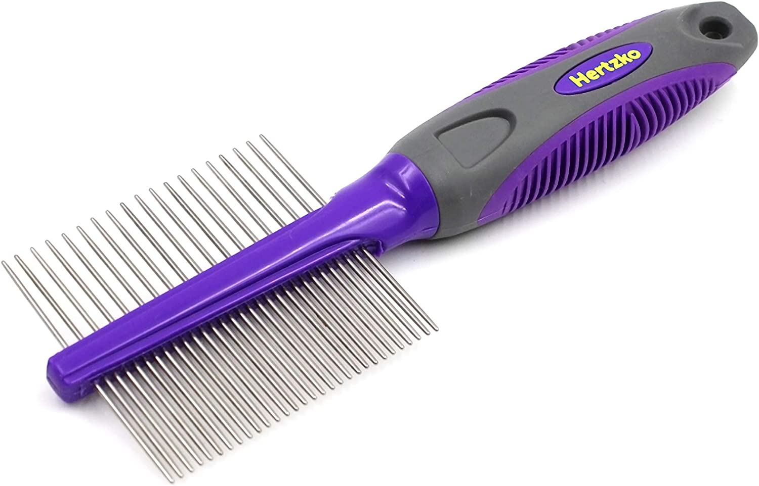 HERTZKO Double Sided Inexpensive Pet Max 86% OFF Comb Dog Cat Closel - and Grooming