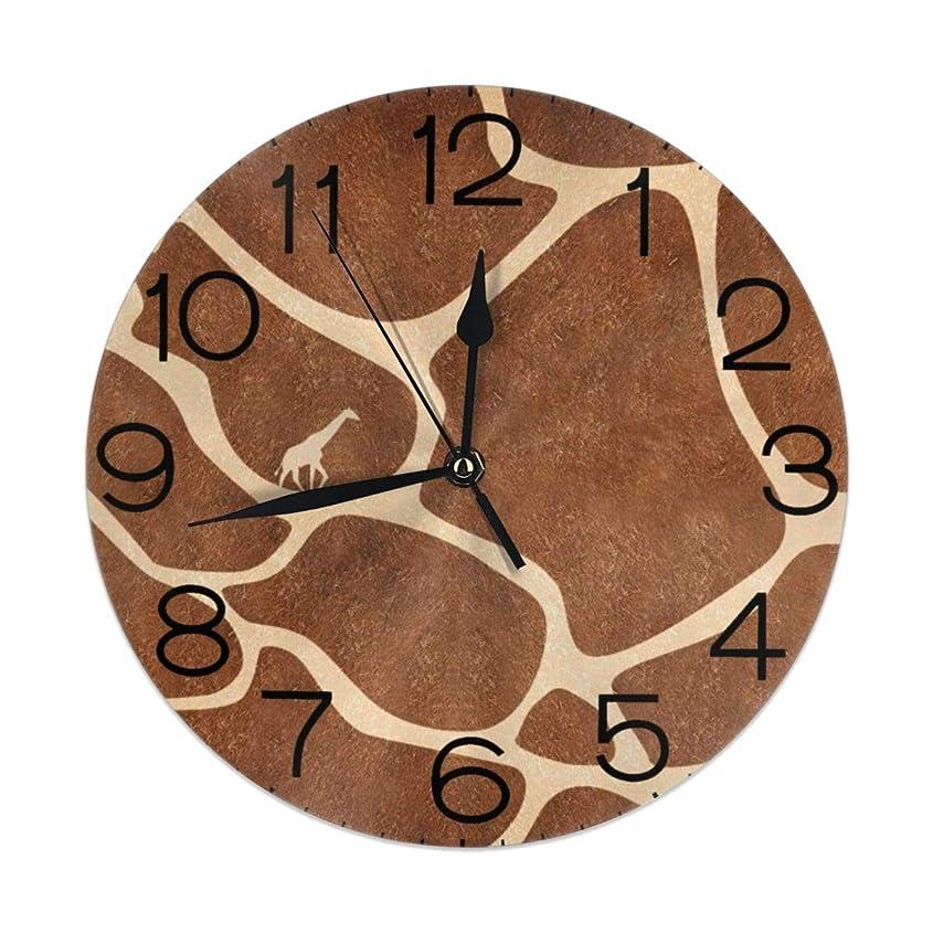 電信つまらない発動機掛け時計 壁掛け時計 キリン肌ベクトル おしゃれ 置き時計 連続秒針 静音 インテリア フレームレス 二重使用 部屋の装飾 ホーム キッチン プレゼントオススメ