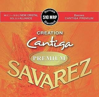 Savarez snaren voor klassieke gitaar Creation Cantiga Premium 510MRP normale tension.
