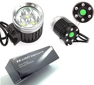 Alomejor Lampe de Poche Rechargeable par USB de la Lampe Frontale 4000LM 5 de la Lampe Frontale 4000LM 5 LED