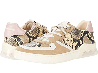 COACH CitySole Printed Court (Beechwood/Aurora Leather) Women