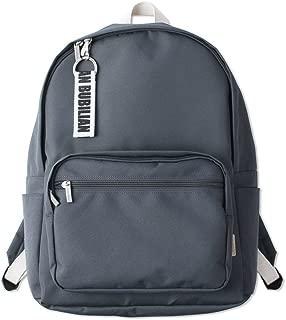 Bubilian BTBB Korean Style Canvans Student Backpack with Keyring