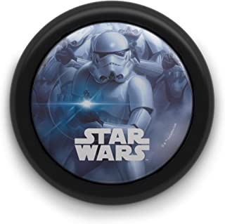 Philips 7192430P0 Veilleuse poussoir LED Motif Star Wars Noir