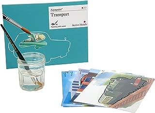 Active Minds Transporte Aquapaint: Pintura de Agua Reutilizable / Actividad artística para Personas ancianas con Demencia / Alzheimer's