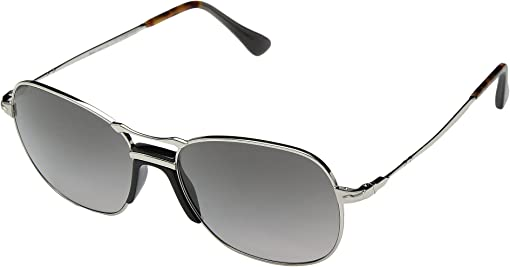 Silver/Grey Gradient/Dark Grey Polarized