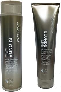 Joico Blonde Life Brightening Shampoo 10.1 fl oz and Conditioner 8.5 fl oz Duo