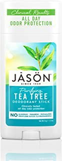 JASON Purifying Tea Tree Deodorant, 2.5 Ounce Stick,Pack of 1