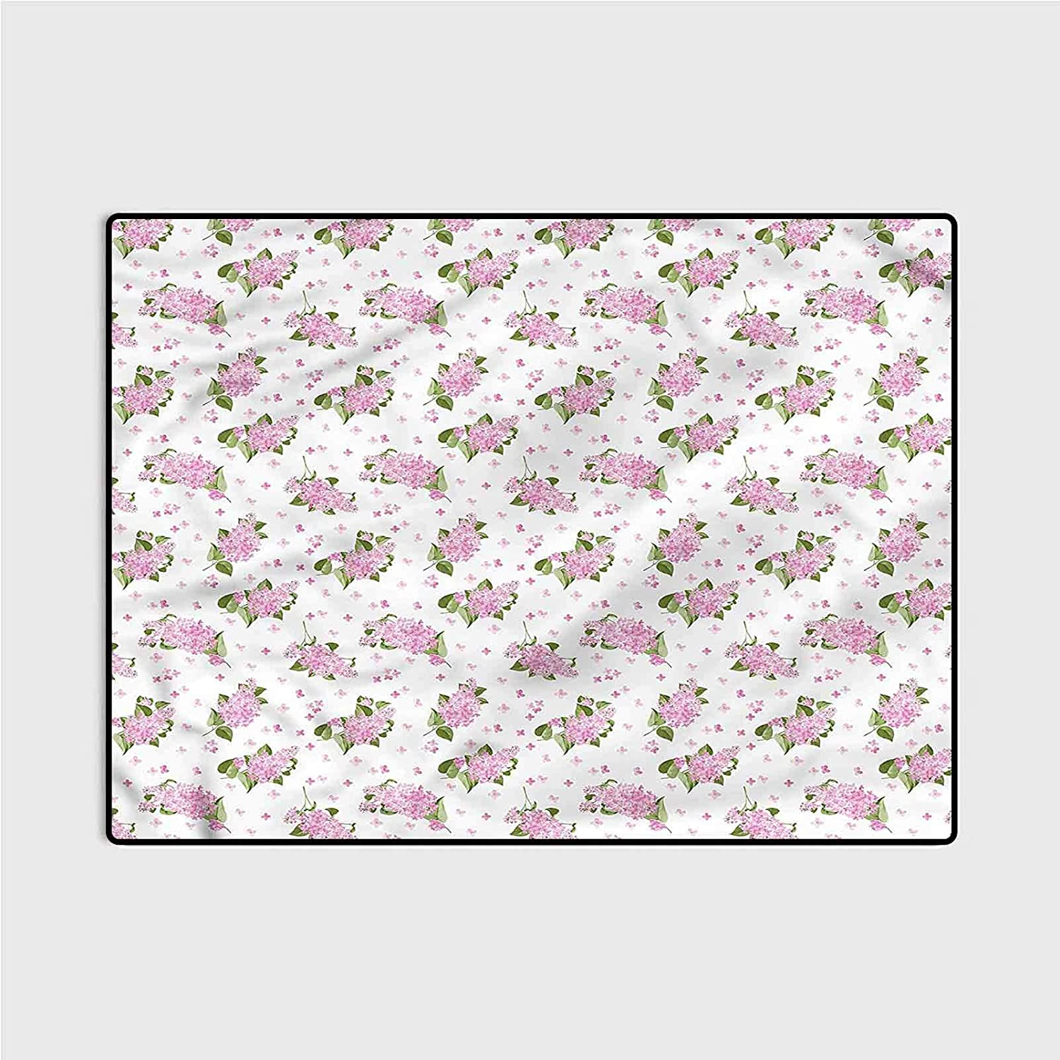 Outdoor Rugs for patios ! Super beauty product restock quality top! Kitchen Mauve Max 50% OFF mats Patt Flowers and