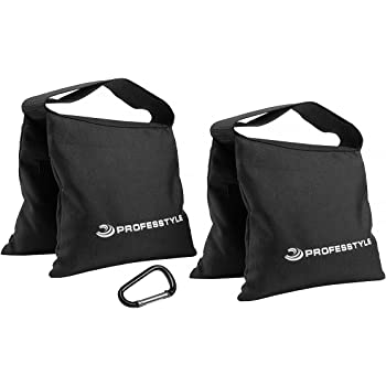Professtyle Sandbag Weight for Photography & Light Stands with Iron Insert - No Leaks Sand - Hook as a Gift, Liquidation, Winding-up